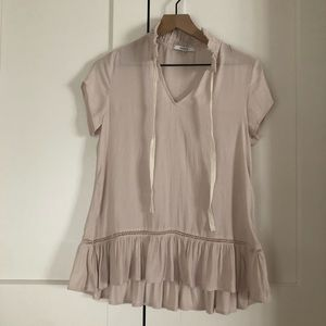 Blush RO&DE Anthropologie tunic XS